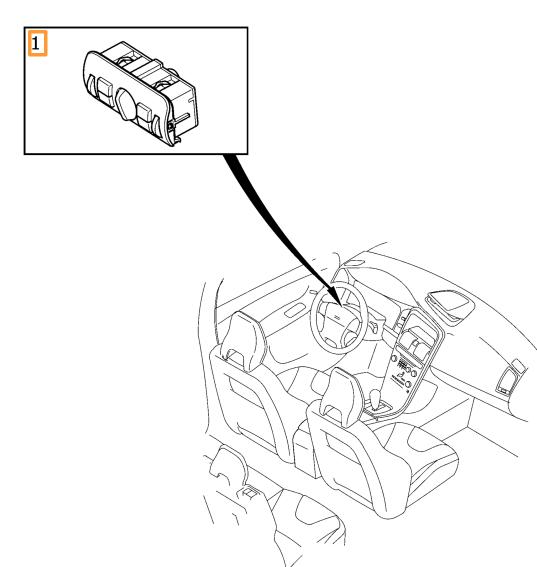 Light Switch - Volvo (31443855)