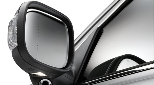 Folding Mirrors XC90 2003-2014 - Volvo (30788157)