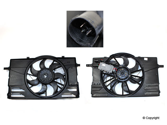 Cooling Fan Assembly-Private Label - Volvo (31261988-PL)