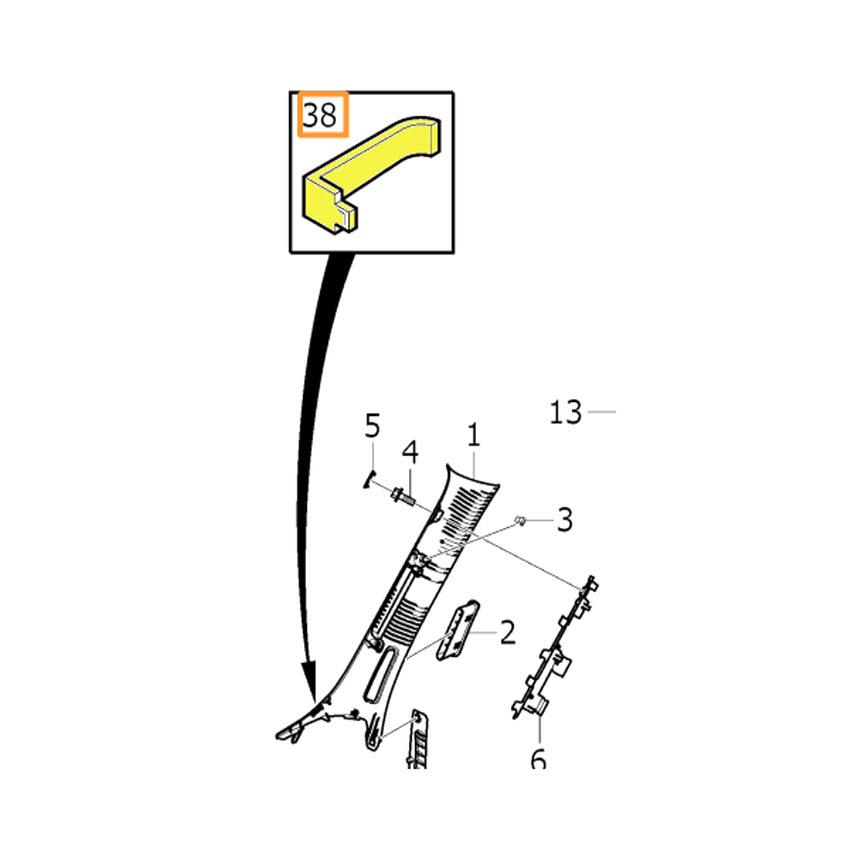 Ticket Clip - Volvo (31467671)