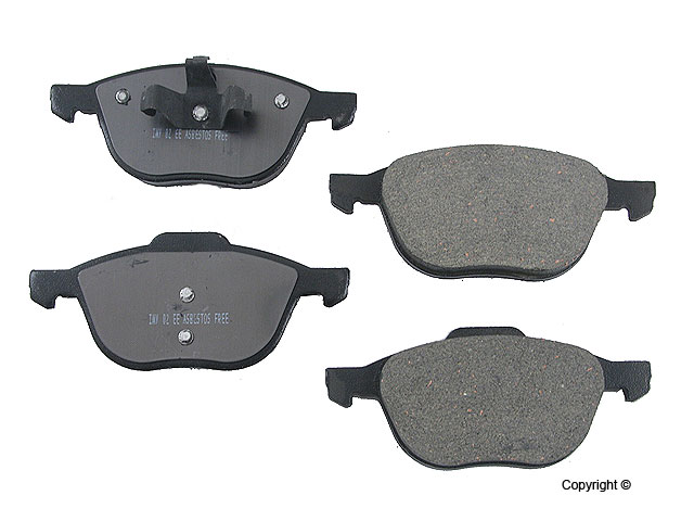 Front Brake Pads Ceramic - Meyle (d91044sc)