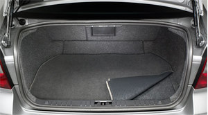 Trunk Mat Carpet S80 2007-Up - Volvo (30653789)