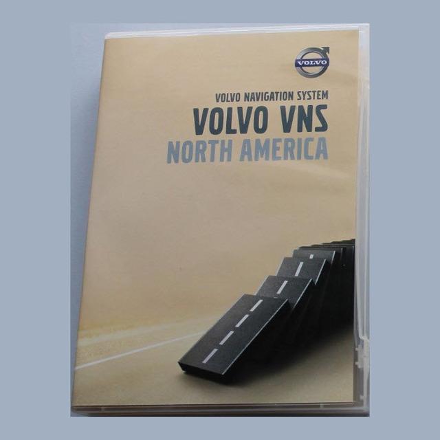 2 DVD Map Disc - Volvo (8640703)