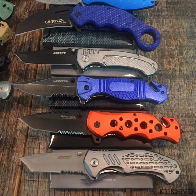 Assorted Knives Spring Assisted - WarTech (knife-asst)