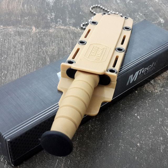 Fixed Blade Hunting Boot Knife - M-Tech (mtech1)