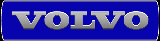Grille Emblem Sticker dark blue - Volvo (3ddark)