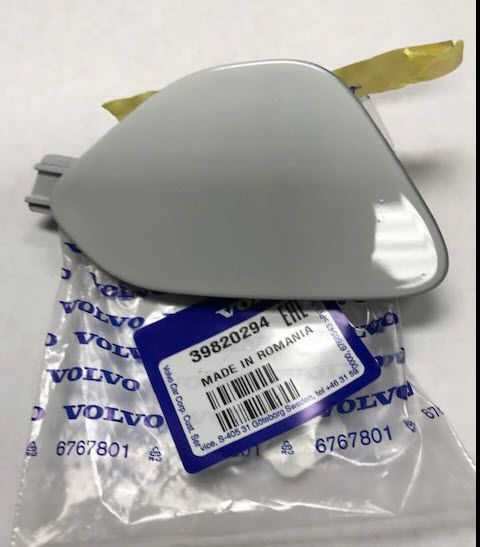 Painted Tow Hook Cover - Volvo (39820294-614)