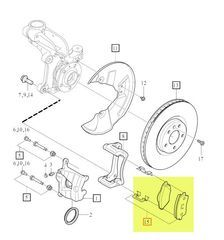 Brake Pads - Volvo (31471407)