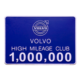 Volvo Mileage Badge - Volvo (cmg20988)
