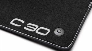 Sport Carpet Mats C30 black only set of 4 - Volvo (31267671)