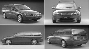 Roof Rails V70 2001-2007 - Volvo (31253109)
