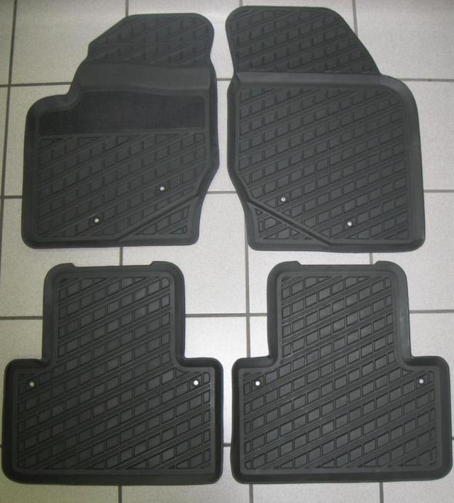 Rubber Mats 4-pc S60 2001-2009 - Volvo (39891775)