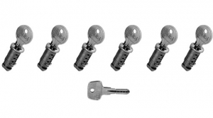 Lock Kit 6-keyed alike locks - Volvo (31330898)