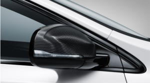 Carbon Fiber Mirror Covers S60 V60 - Volvo (31454245)