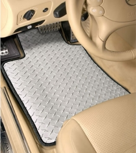 Diamond Plate Floor Mats - Volvo (diamond-plate)