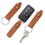 Volvo Leather Keychain