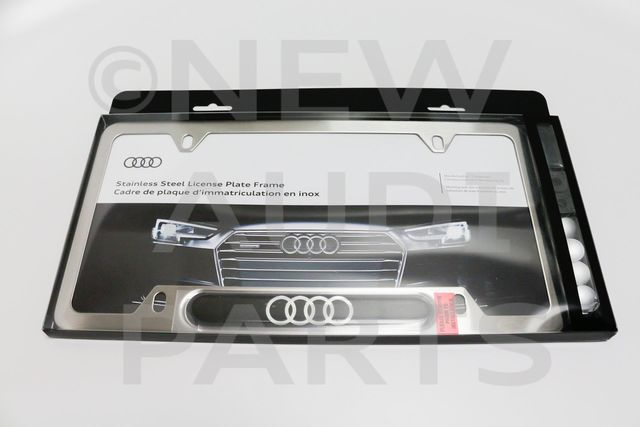 Audi Audi Rings License Plate Frame ZAW-071-801-H-XZ2 | Audi of Naples