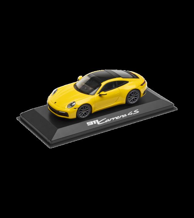 Model Car: 911 (992) Carrera 4S Coupé, racing yellow, 1:43 - Porsche (WAP-020-172-0K)