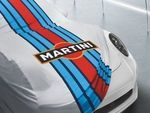 Indoor Car Cover Martini Racing Design