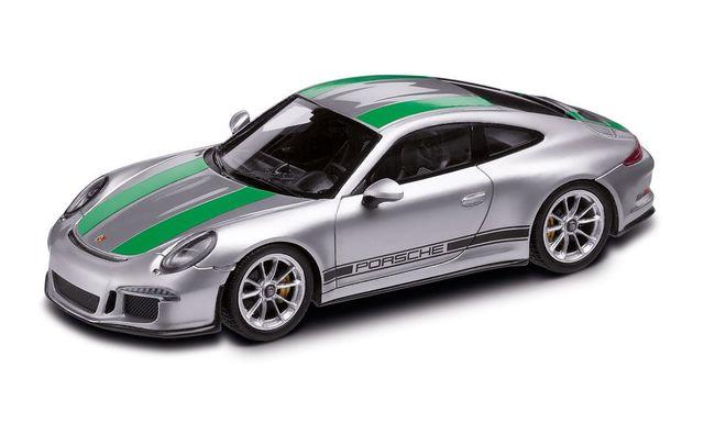 911 R type 991 grey / green 1:18 Spark - Porsche (WAP-021-146-0H)