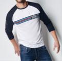 Men's Long-Sleeved T-Shirt MARTINI RACING - Porsche (WAP-553-XXX-0K)