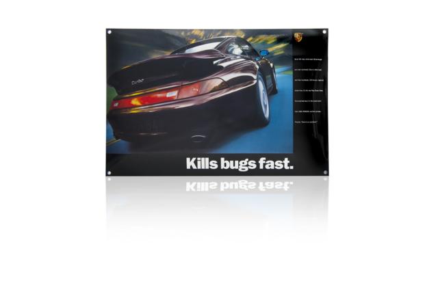 Porsche Enamel Sign - Porsche (PCG-000-993-10)