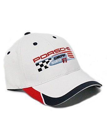 WHITE Rennsport Reunion VI Hat - Porsche (REN-001-006-18)