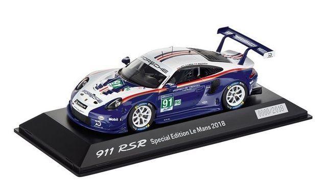 Model Car: 911 RSR Rothmans Special Edition Le Mans 2018 1:43 - Porsche (WAP-020-924-0K)