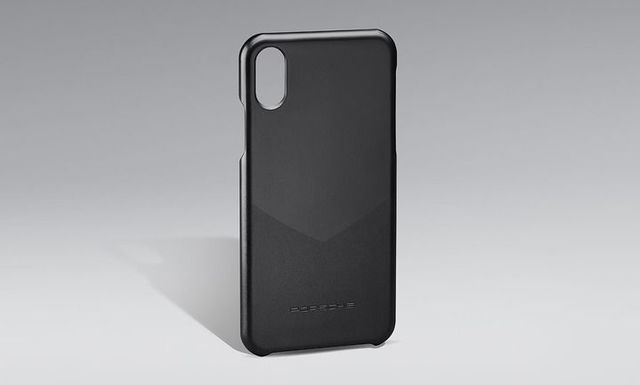 Cover Iphone Black - Porsche (WAP-030-024-0K)