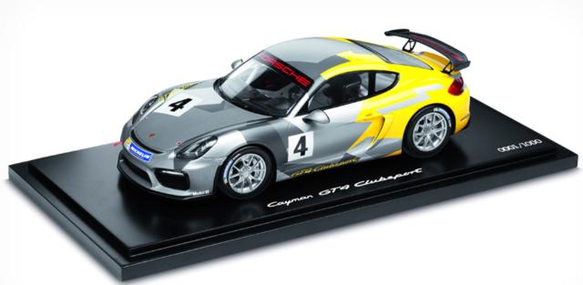 Model Car: Cayman GT4 Clubsport - Porsche (WAP-021-901-0G)