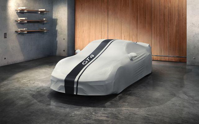 Indoor Car Cover 718 Cayman GT4 Design - Porsche (982-044-000-21)