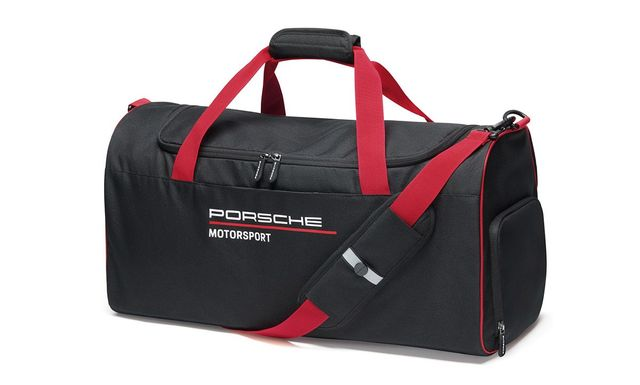 Motorsports Collection, Fanwear, Sports Bag, black - Porsche (WAP-035-002-0L-FMS)