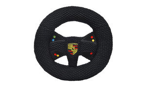 Knitted Steering Wheel with Rattle - Motorsport - Porsche (WAP-040-901-0K)