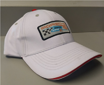 Rennsport White Hat With Patch - Porsche (REN00100718)