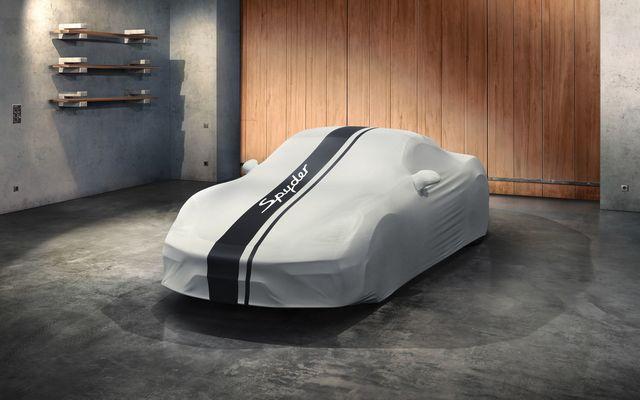 Indoor Car Cover 718 Spyder Design - Porsche (982-044-000-20)