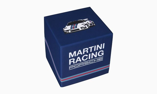 Seating Cube, dark blue - Porsche (WAP-050-001-0L-SZW)
