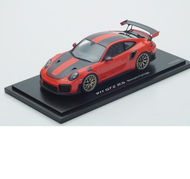 1:18 GT2 RS Lava Orange - Porsche (WAP0211810J)