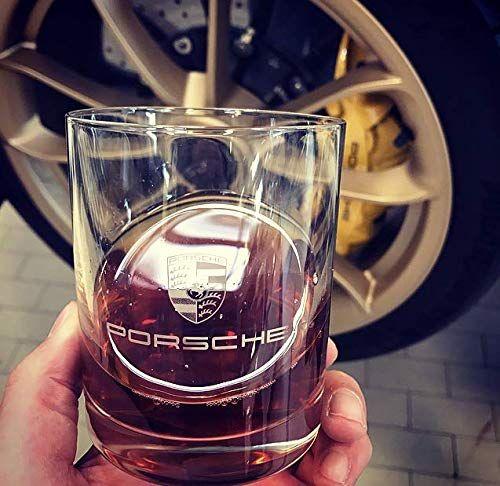 Porsche Crest Rocks Glass Set - Porsche (WAP-050-030-0K-USA)