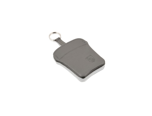 Key pouch in Classic Grey leather for Porsche 911 - Porsche (PCG-044-100-01-6XL)