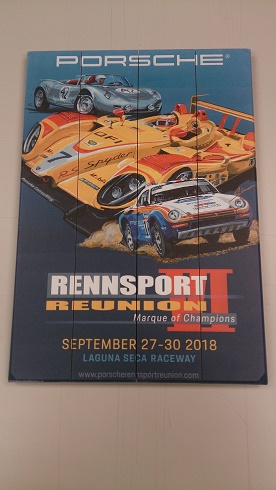 Rennsport Poster On Wood