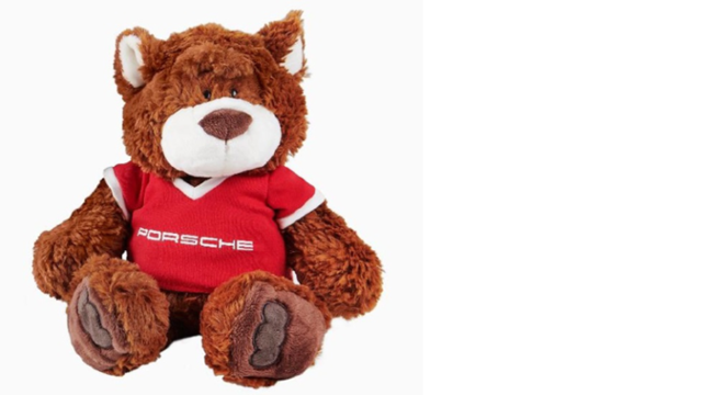 Kids Cuddly Teddy Bear - Porsche (WAP-040-102-0L-KID)