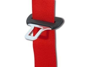 Seat Belt-Red - Porsche (964-803-033-04-N13)