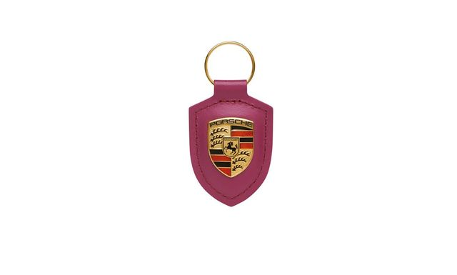 Porsche Crest Keyring, Star Ruby - Porsche (WAP-050-030-0M-M3B)