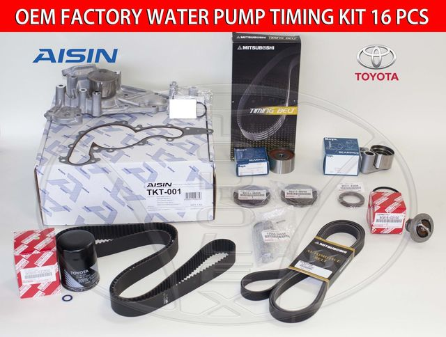 Genuine Factory Timing Belt Kit with OEM Aisin Water Pump for 4.7 Engine - Lexus (1610059276ais3)