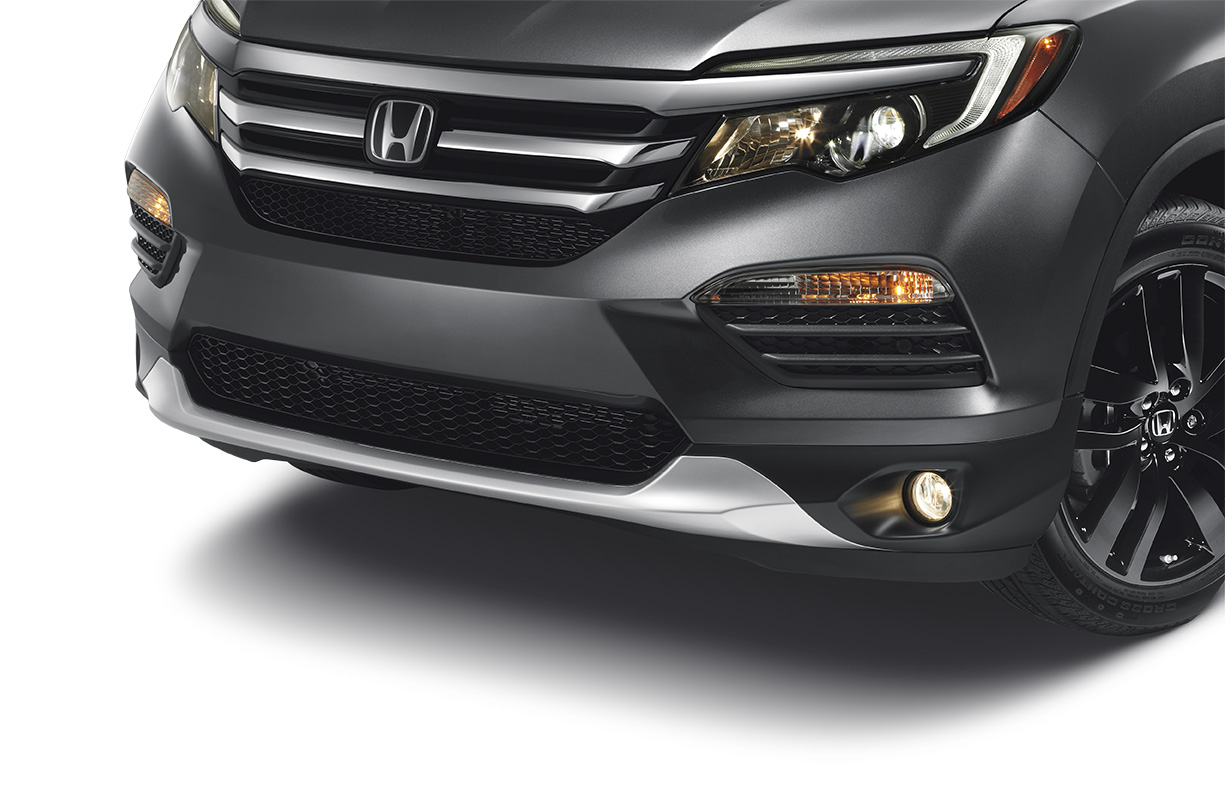 2016 Honda Pilot Front Bumper Garnish Chrome
