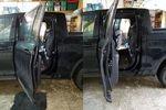 Ridgeline rear door checker modification - Honda (RidgeDoors)