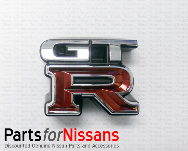 Nissan Skyline R34 GTR Grill Emblem 62896-AA400 JDM Genuine OEM NEW