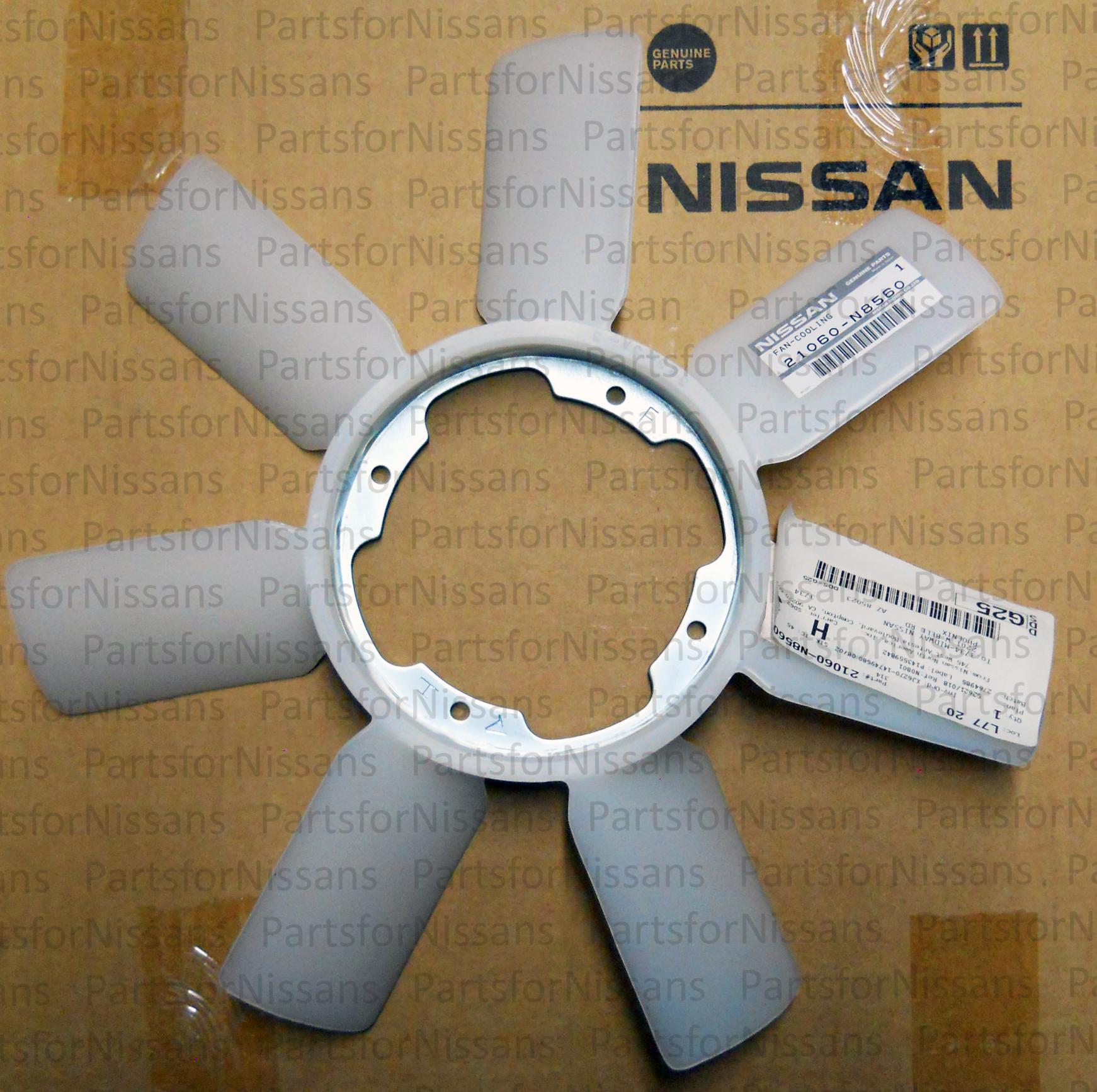 Genuine Nissan Radiator Cooling Fan Blade 21060-N8560