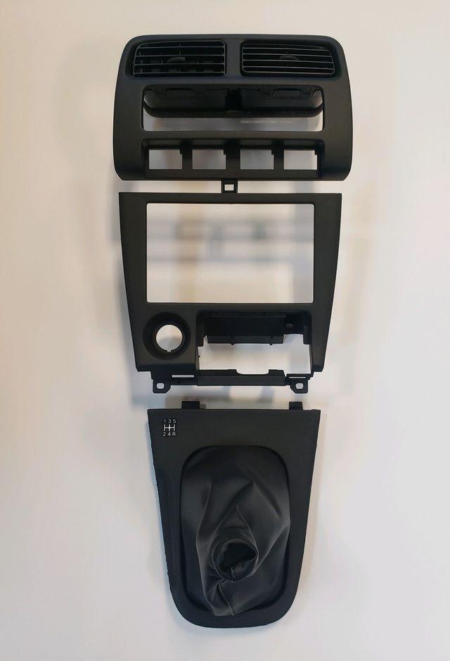 Nissan S14 240SX 95-98 Center Console Dash Shift Boot Kit - Nissan (S14REFRESHKIT)