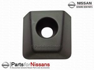 Titan Outside Front Door Escutcheon w/ Keyhole Midnight Edition - Nissan (80646-9FU0A)